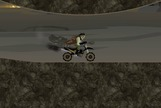 Agility-game-moto-with-a-zombie