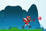 Platform-game-with-a-zombie-disguised-as-american-football-player